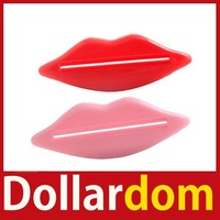 [DollarDom] New 2X Bathroom Lip Kiss Dispenser Toothpaste Squeezer Worldwide free shipping