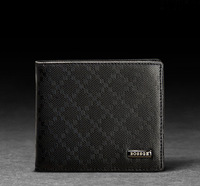 Fashion 2014 Men wallets Genuine leather Purse Short Man Purse money clip leather change purse