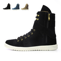 New arrival 2013 male casual boots high-top shoes fashion martin boots men's