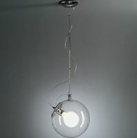 New Modern  adjust dia 25cm soap bubble pendant lamp Italian Style Glass Pendant Lights