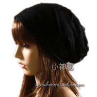 Brushed cotton 100% four seasons millinery skull bare-headed hat turban cap autumn and winter month of cap 100% cotton hat