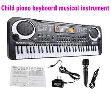 New Electronic educational toys piano 61 key child electronic organ child piano keyboard musical instrument toy Free shipping(China (Mainland))