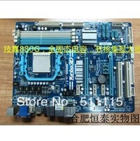 Free shipping  Genuine Gigabyte 880G, all-solid-state nuclear AM3 motherboard opened with high MSI 880.890 990 seconds