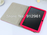 Free Shipping1x 10.1 inch leather Stand Case for pipo m9 pro rk3188 quad core tablet pc+1x screen protector+1pcs Sleeves