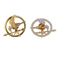 classical steam punk the hunger games hungry game Brooches pin broach jewelry for women clothing accessories 6pcs
