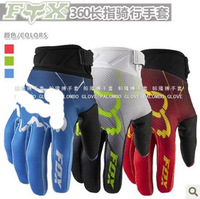 Free Shipping FOX GLOVE FOX360 BLUE COLOR OFF-RODA MOTORCYCLE RACING GLOVE BICYCLE GLOVES SIZE M, L, XL