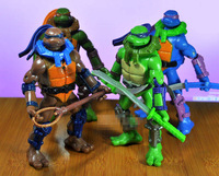 4 Pieces 16CM Large Style Teenage Mutant Ninja Turtles Classic Collection Action Toys Figures TA0020
