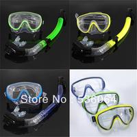 Swimming Swim Gear Scuba Anti-Fog Goggles Mask Dive Diving Glasses Snorkel Free Shipping