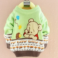 Children 2-4 years old beautiful warm sweater Wholesale and retail suitable for cold winter kid sweaters
