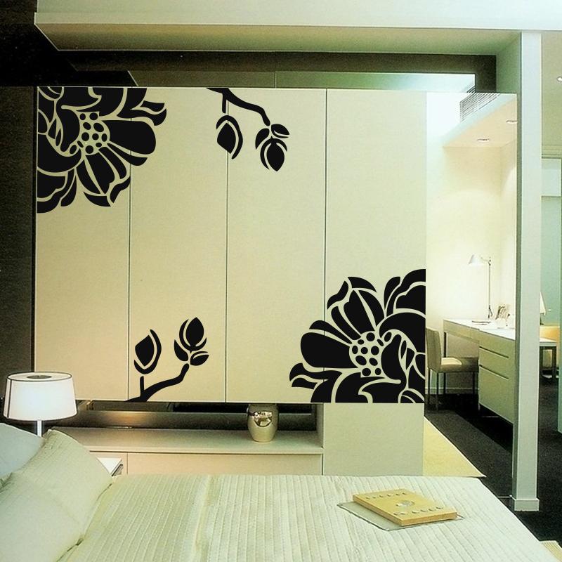 Achetez en gros coulissantes armoire en ligne des grossistes coulissantes a - Stickers porte coulissante ...