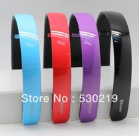 2013new arrival  Hot Foldable Wireless Bluetooth Stereo Headset