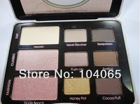 New Brand Natural Eyes Elegance Eye Shadow Collection Palette Pigment Rich 9 Colors Eyeshadow wholesale Freeshipping(2pcs/lot)