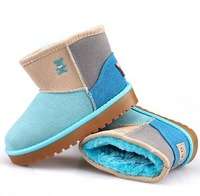 2014 new Kids  Children's snow boots, winter boots cartoon Baby Boys and Girls shoes cotton shoes