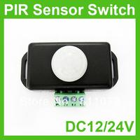 20PCS/LOT 12V 24V 8A PIR Sensor Switch For LED Strip Light