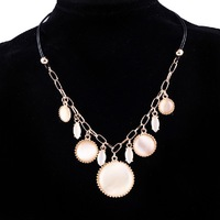 Free shipping Fashion necklace women choker necklace Elegant opal Necklaces & Pendants N2239