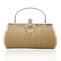New women bags Valentine gift to send girlfriend iron shelf evening bag handbag KTV party dress evening makeup bag 757