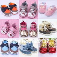 Baby Shoes Kids First Walkers Leopard Brand Infantil Sapatos Baby Shoes Soft Soled Baby First Walkers -- BS09 Free Shipping