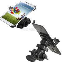 Bike Bicycle Mount Phone Stand Holder For Samsung Galaxy S4 I9500 Black #gib