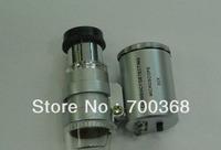Freeshipping Mini 60X Microscope Loupe, 60X microscope magnifier  60pcs/lot