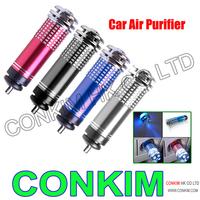 HOT  Mini Auto Car Fresh Air Purifier Oxygen Bar Ionizer Free Shipping