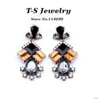 2014 New Arrival Sale Bone Brincos Jewelry Water Drop Earrings Elegant Pendant for Women free Shipping Statement New Arrival