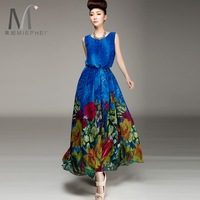 FREE SHIPPING 2013 gentlewomen skirt chiffon sleeveless chiffon one-piece dress expansion bottom full dress a female
