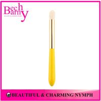 High-Grade Goat Hair Lovely Mini Makeup Brushes Single Tapered Blending Brush L016