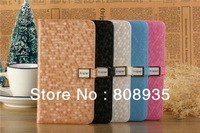 Free Shipping 100pcs/lot Luxury Bling Bling Leather Case Cover For Samsung Galaxy Note 3 III N9000 N9006 With Card slot