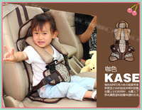 Best-selling Seat!!Boys and Girls Portable Car Seat,Coffee,Blue,Pink,3 Colors for Choice,Portable Toddler Car Seat,Safety Belts