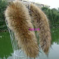 HOT SELLING! Winter Women's Faux Fur Scarf Raccoon Fur Cap fur collar false collar