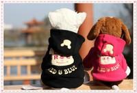 2014 New design dog clothes cute Santa pet clothing warm winter small medium dog cat Chihuahua Yorkshire Poodle Pitbull