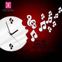 Wholesale Ikea Style Wholesale Ikea Style Note kc049 diy decoration the mirror wall stickers mirror wall stickers wall clock