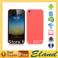 Free shipping MTK6572 Dual core 4.0''Touch Screen Smart phone 5C 1:1 Dual camera 5MP Unlock phone Single SIM In stock