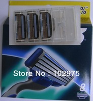 Free Shipping(8blades in a pack),Hot sell Men's Razor Blades,Original package,high Quality Blade,rus/us/eu version available