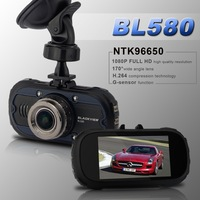 Blackview Car DVR Novatek 96650 500M Pixel CMOS Sensor 1920*1080P 30fps H.264 170 Degree Wide Angle Night Vision G-sensor BL580
