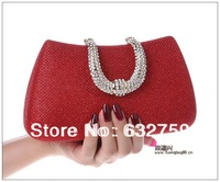4 color 2013 hot new diamond dinner joker handbags hand bag package