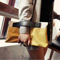 Casual personality clutch vintage fashion day clutch envelope bag purse wallet mobile phone women's handbag