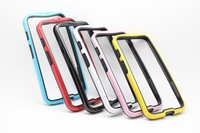 6 colors Dual color TPU+PC Frame Bumper Case cover for Motorola Moto X Phone 10pcs/lot Free Shipping