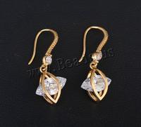 High Quality Cubic Zirconia Drop Earring 18K Gold Plated Earrings for women, Dangle Earrings, Girl Earings