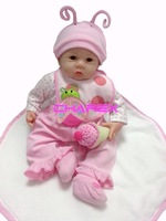 Lifelike and Realistic in Vinyl doll reborn baby with hair 21 inch Weighted Body newborn girls toys