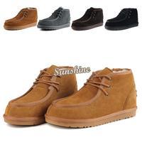 Hot Sale 2014 Winter Shoes Men Cotton-Padded Shoes Snow Shoes Fashion Men's Wear-Resisting Low Tube Short Boots Snow Boots 17922
