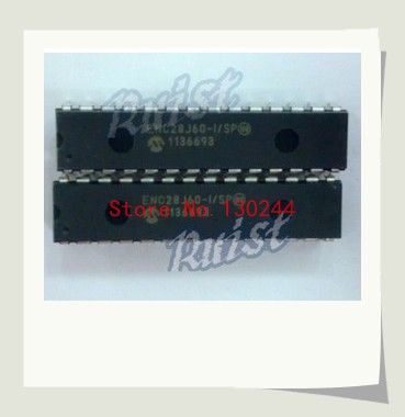 10pcs/lot ENC28J60-I/SP New and Original. ETHERNET CONTROLLER W/SPI, 28SDIP(China (Mainland))