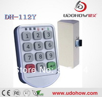 LED indicate keypad keyless metal cabinet locks (DH-112Y)