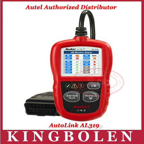 2013 Hot Selling Auto Diagnostic DIY Code Reader Autel AutoLink AL319 OBD2 Code Scan Tool Update On Official Website(China (Mainland))