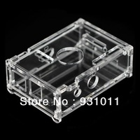Transparent Acrylic Case Box Enclosure For Raspberry Pi 512M Model B Computer Free shipping