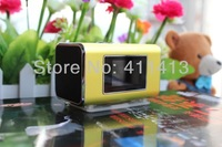 20pcs new style TT6 mini Sport speaker with Color screen and Clock and calendar, Support the SD/F card and the FM function.