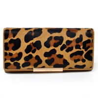 Horse leather 5 animal prints women wallets & holders 2014 new purses 8052