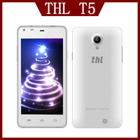 Newest 4.7 inch THL T5 3G Smartphone MTK6572W Dual Core 1.2GHz 960x540 5.0MP 4G ROM Android 4.2 Bluetooth GPS WiFi WCDMA