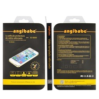Tempered Glass Anti Shock Screen Protector For Samsung galaxy Note 3 N9000 0.4mm(Package in Spanish) MOQ:1PCS