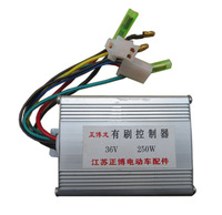 Electric bicycle controller 36v 250w brush motor controller electric bicycle car battery controller refires